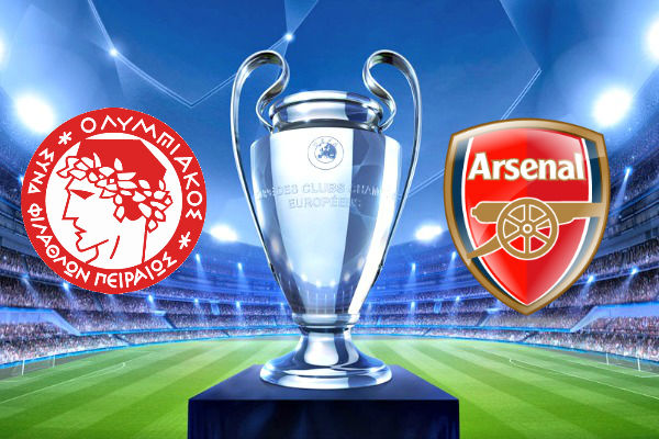 Olympiakos Vs Arsenal 10 Desember 2015