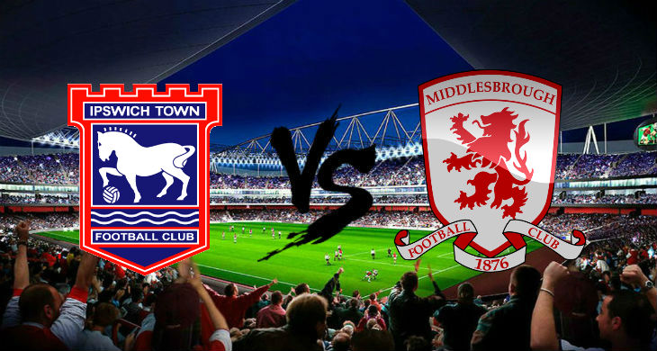 Pertandingan Ipswich Town vs Middlesbrough
